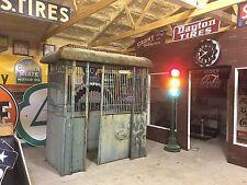 PATINA! AnTiQue OLD VintagE ELEVATOR Enclosure Garden ArT DeCo HOLLISTER-WHITNEY