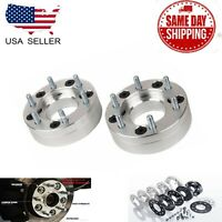 "4PC 6X5.5 TO 5X5.5 CONVERSION ADAPTERS 6LUG TO 5LUG 2"" HUMMER GMC CHEVY CADILLAC"
