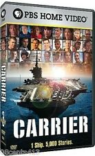 PBS Home Video: Carrier (3-Disc Widescreen DVD Set) 1 Ship, 5,000 Stories.