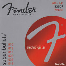 Fender 3250r Super Bullets Electric Guitar Strings 10-46