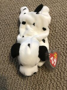 TY Beanie Baby Dotty Mint With Mint Tags