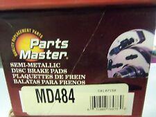 Disc Brake Pad-Premium Grade Metallic Front Parts Master MD484 FREE Shipping!