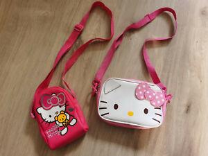 2 Hello Kitty Taschen/Täschchen/Schultertasche/Umhängetasche