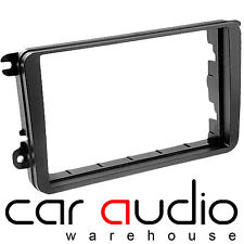 DFP-17-03 VW Golf MK5 2003 on Car Stereo Double Din Fascia Facia Panel Autoleads