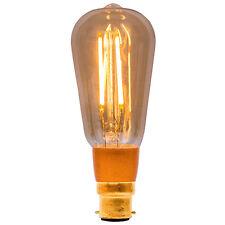 4w LED BC Vintage Cage D'écureuil Bell 01468 Antique Ampoule Encastrable