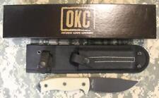 NEW Ontario #8667 RAT 5 Fixed Blade Knife & Nylon Sheath 1095 Carbon Steel USA