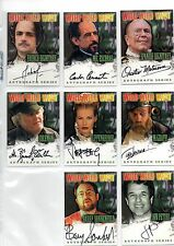 Wild Wild West Movie Auto Autograph Card Lot Ted Levine