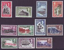Ceylon 1935 SC 264-274 MH Set