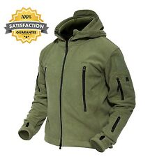 Magcomsen Men 's Warm Military Hunting Tactical Fleece Jacket