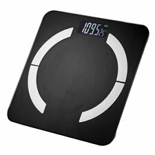 Bluetooth Körperwaage Personenwage 180kg Fitnesswaage Gewicht Waage BMI Analyse