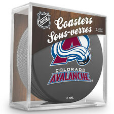 Official National Hockey League Licensed Colorado Avalanche Coaster Set