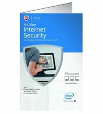 McAfee Internet Security 2015  Key Card for 3 PCs