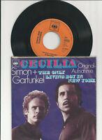 "Simon And Garfunkel-Cecilia-Vinyl,7"",45 RPM,Single Rock Sammlung D 1970"