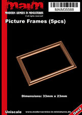 MAiM Picture Frames / Bilderrahmen (5pcs, each dimensions: 33mm x 23mm)