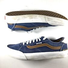 VANS Authentics Men US 8 Chima Ferguson Pro Blue Canvas  Skate Shoes