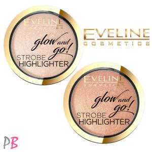 Eveline Glow and Go! Face Strobe Baked Highlighter Illuminating Pressed Powder