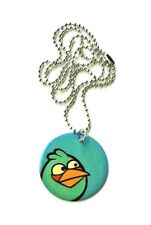 NEW Angry Birds Movie Dog Tag Necklace Collectible RARE! Blue Bird Keychain CUTE