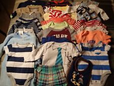 Lot of 26 pieces, boys 3-6 months clothing outfits.