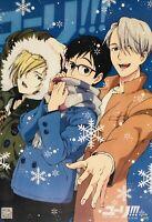 Japanese Anime Yuri!!! On Ice Poster Y02 Yuri Katsuki Victor Nikiforov Plisetsky