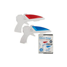 Micro Ray - World's Tiniest Space Blaster Gun - 2 pack - (1 x Blue; 1 x Red)
