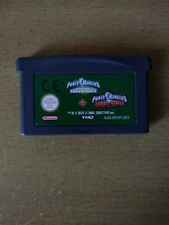 Power Rangers Time Force & Power Rangers Ninja Storm (Nintendo Game Boy Advance)