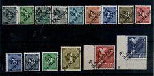 Y34) Duitse Post 15x aufdruck Bezirk meist falschung