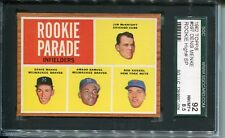 1962  Topps  Baseball    # 597   Rookie Infielders  SGC 92   8.5     High Number