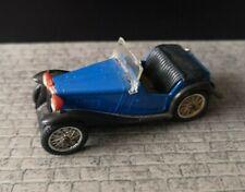 60s SPOT ON Triang 1935 MG P.B MIDGET #279 Blue Diecast Model Car 1/42 Vintage