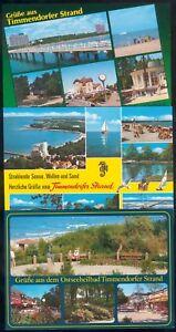 Lot mit 6 Postkarten Timmerndorfer Strand (1) neuwertig