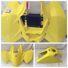 Maier Neon Yellow Front/Rear Fender Gas Tank Cover Kit Suzuki LT-Z Quadsport 400