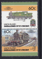 UNION ISLAND LOCO 100 7200 CLASS LOCOMOTIVE UK STAMPS MNH