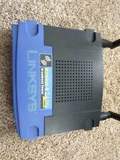 LINKSYS Wireless-G Broadband Router w/ 4 Port Switch | WRT54GL v 2.2 | USED