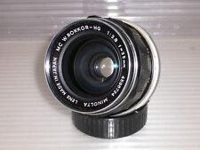 Minolta MC Rokkor - HG 2,8/35mm für Minolta MD, Weitwinkel Minolta Vintage (7)