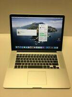 """2015 A1398 15"""" MacBook Pro Retina Laptop 2.5 i7 16GB 1 TB !8 Cycles Counts!"""
