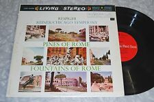 REINER RESPIGHI Pines/Fountains of Rome RCA LIVING STEREO LSC-2436 VG+ LP