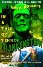 Frankenstein Boris Karloff 11 x 17 High Quality Movie Poster