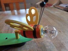 Kinderzimmerlampe Hummel, Doppelstrahler, Hersteller Elobra, mit Glühbirnen