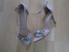 Women's Size 38 Dusty Pink Jewel Heel Shoes by Carvela