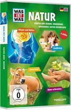 WAS IST WAS 4er DVD-Box NATUR 2: Körper und Gehirn, Ernährung, Bauernhof, Natur