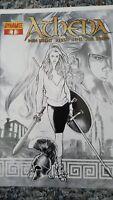Athena (Dynamite Entertainment) #1 (2009) 1:10 VARIANT SKETCH COVER