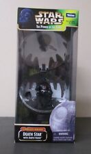Death Star with Darth Vader STAR WARS Power of the Force POTF Complete Galaxy