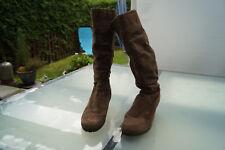 TAMARIS Damen Winter Schuhe Stiefel Stiefeletten Gr.39 braun wildleder TOP #st