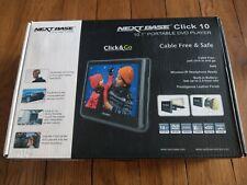 Click & Go 10.1 Portable DVD Player + Headphones Kit - Nextbase headrest mount