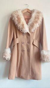 vintage 70s penny lane boho fur coat
