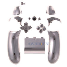 Replacement Controller Button Set ABXY Guide for Xbox One Game Chrome Silver