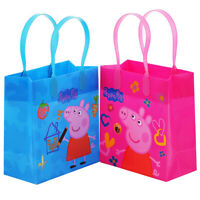 12PCS Peppa Pig Goodie Party Favor Gift Birthday Loot Bags Licensed Small