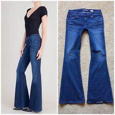 Level 99 Dhalia Jeans Flare Size 28 Stretch Womens Boho Denim