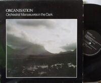 OMD ORCHESTRAL MANOEUVRES IN THE DARK ~ Organisation ~ VINYL LP