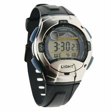 Casio Men's Silver Strap Wristwatches