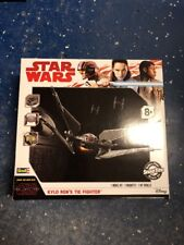 Revell 1:70 Star Wars Kylo Ren TIE Fighter Plastic Snap Model Kit 85-1647  *NEW*